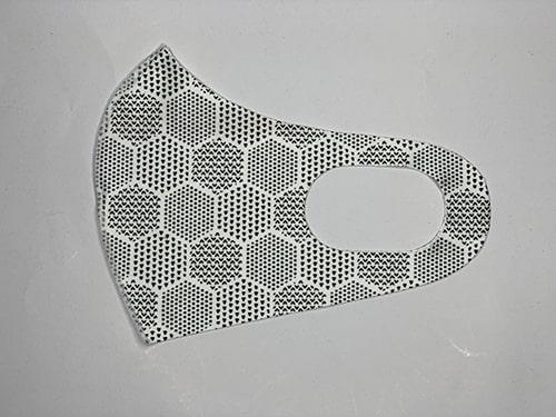 Mask A patterned