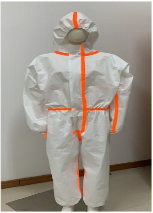Protection Suit With Strips - PS01 - PAR - Dailytec