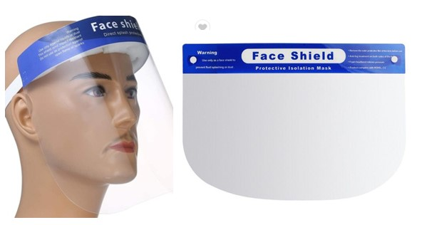 Safety Face Shield - LOR - Dailytec