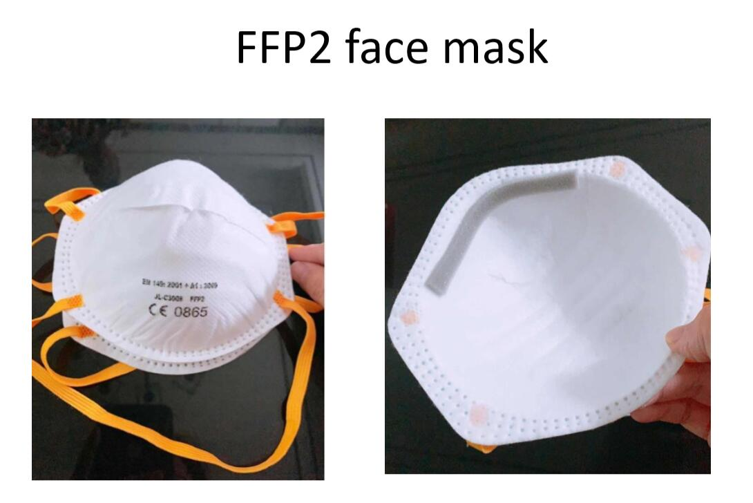 Professionnal Face Masks - FFP2 - LIS - Dailytec