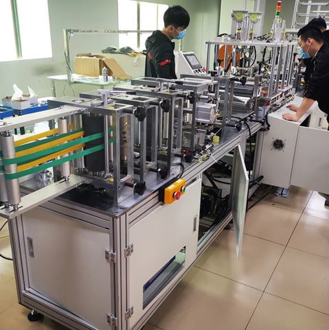 Fully Automatic 5 ply Face Mask Making Machine - SAR - Dailytec