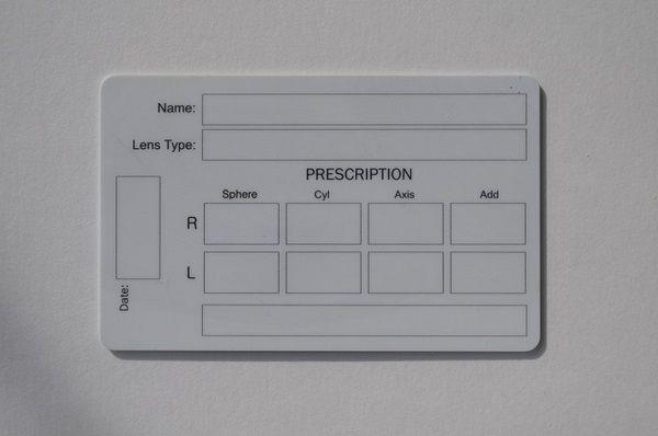 Warranty Cards for Optics - Dailytec