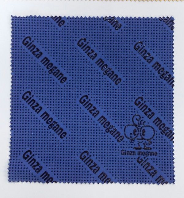 Advertising lens cloths in rolls, printed, embossed or with dots for large volumes - Dailytec
