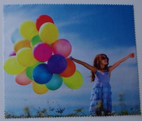 First price advertising lens cloths - Digital printing 4 C on 1 side only - Dailytec